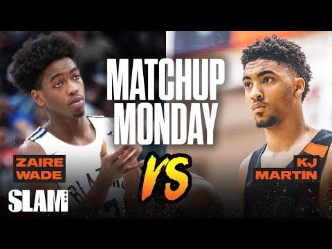 Zaire Wade vs Kenyon Martin Jr.