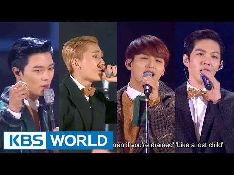 BTOB - Way Back Home [2015 KBS Song Festival / 2016.01.23]