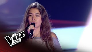 "Ariadna Vieyra: ""Warrior"" – Audiciones a Ciegas  - La Voz Kids 2018"