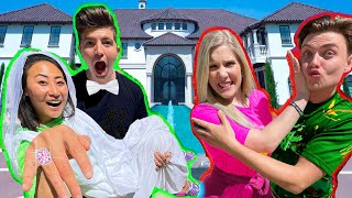 Switching BOYFRIENDS with Brianna for 24 hours!!