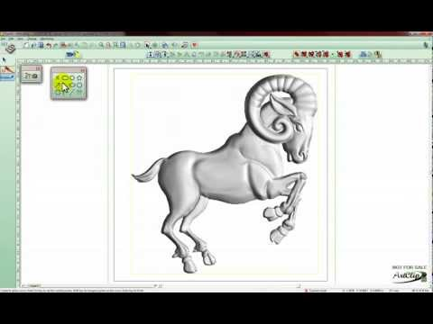ArtClip3D - Wood Carving CAD/CAM - How to extend the border limits on a 3D model?
