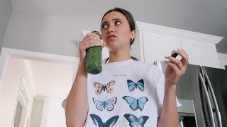 dramatic teenager tries a juice cleanse for 1 day