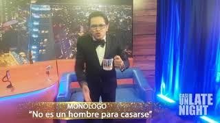 """MONÓLOGO """"No es un hombre para casarse""""-Casi Un Late Night Con Ovandy Camilo"""