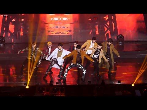 170222 엑소 (EXO) - Intro(세훈)+Monster(몬스터) [전체] 직캠 Fancam (2016 가온차트어워드) by Mera