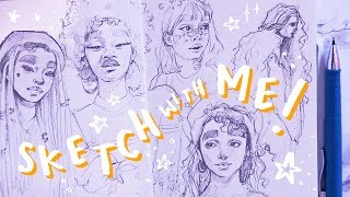 Sketch With Me // + how to feel good about your art