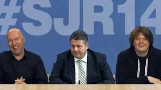 Sigmar Gabriel und der Satirische Jahresrückblick 2014