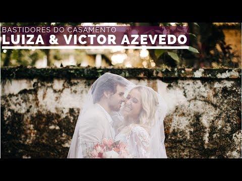O maior retrato de Deus é a família – Bastidores do casamento da Luiza & Victor Azevedo