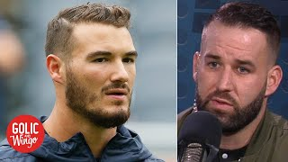 Bears QB Chase Daniel talks Mitchell Trubisky and the Bears' disappointing season | Golic and Wingo