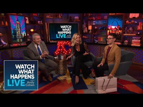 Andy Cohen Drops Karlie Kloss's Homemade Cake! | WWHL