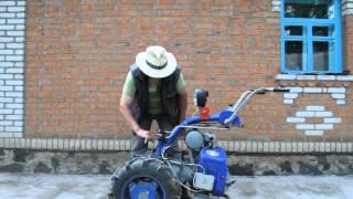 Мотоблок Моторсич МБ-4,05 разворот рулевой колонки