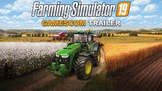Farming Simulator 19 - Gamescom 2018 Trailer