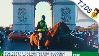 France Teaches World How To Protest Properly