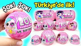 Türkiye'de ilk! LOL Eye Spy Lil Sisters Wave 2! Şok Oldum! Zep'in Oyuncakları