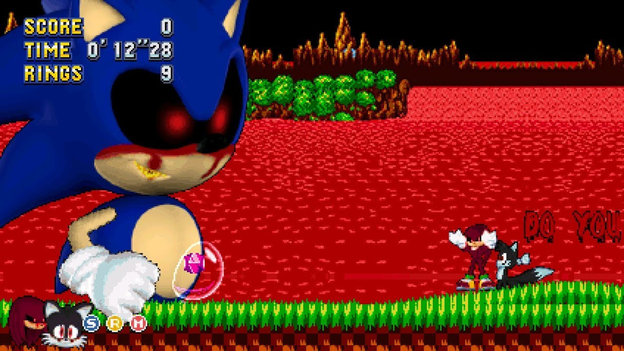 Classic Sonic EXE Mania Plus Mod + Secret Boss Special Plus V2 0