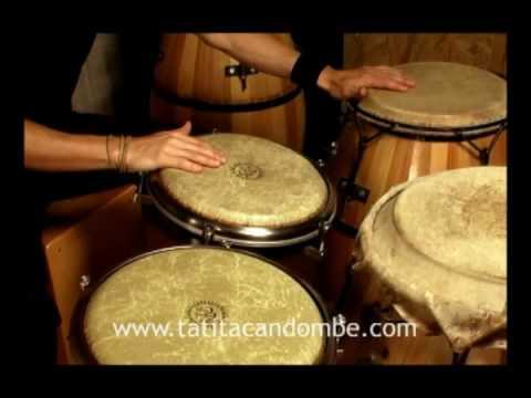 Tatita Candombe - Clase de demostración - Candombe en Tumbadoras, Piano, Repique y Cajón Peruano