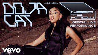 Need To Know – Doja Cat (Official Live Performance) Video HD
