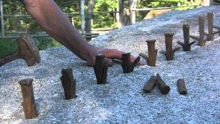Cutting Stone At The Deer Isle Hostel