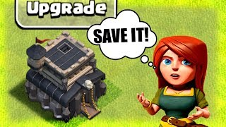 SAVING TOWN HALL 9! - IS IT POSSIBLE!? - Clash Of Clans