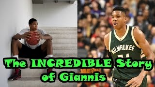 The INCREDIBLE Underdog Story of Giannis Antetokounmpo
