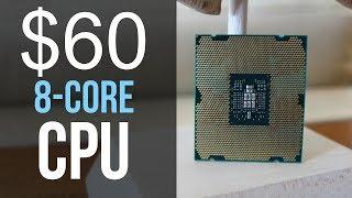 The $60 8 core CPU vs Ryzen 7!