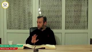 002 Bakara Suresi II. Kur 030. Ayetin Tefsiri-3 (Yasin Karataş Hoca)