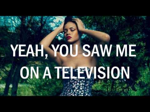 Rihanna - Half Of Me (Official Lyrics) HD