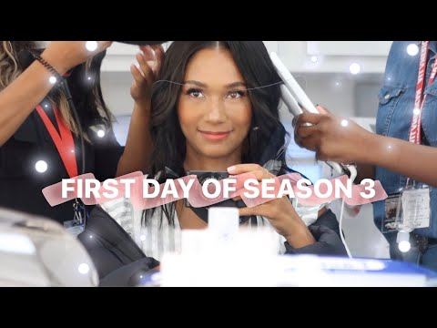 VLOG: FIRST DAY OF ALL AMERICAN SEASON 3