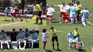 CUP MATCH DRENCHED IN CONTROVERSY!  CYNICAL FOULS, SCORNFUL FANS & SUSPECT DECISIONS!