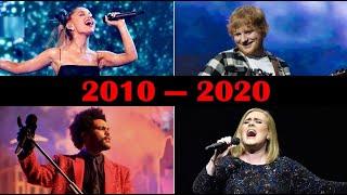 Top 10 Best Selling Songs Each Year (2010-2020)