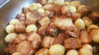 Cách nấu thịt kho trứng cút ngon như ngoài hàng!