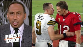 What's at stake in the Brady vs. Brees playoff game?   First Take