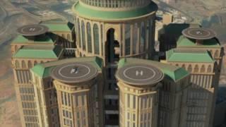 أكبر فنادق العالم بمكة