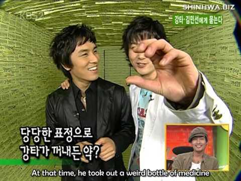 [ENG SUB] 050503 KSS Kangta & Kim Min Seon - WanSung Question Box Cut