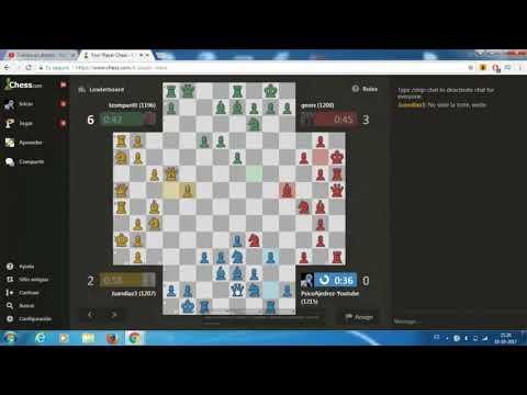 ajedrez online jugando