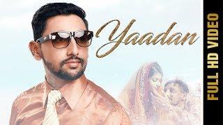 Yaadan – Varinder Prince