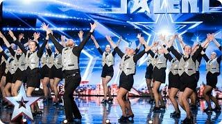TapTastik tap their way through to the next round | Auditions Week 5 | Britain's Got Talent 2017