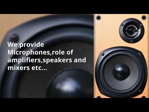 Sound System Rental Dubai - Rent a Sound System in Dubai