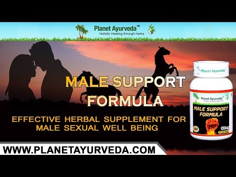 Incredible Herbal Supplement For Male Sexual Health - Male Support Formula