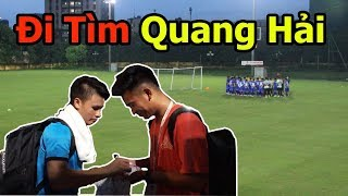 Thử Thách Bóng Đá đi tìm Quang Hải , Bùi Tiến Dũng và đội tuyển U23 Việt Nam VS U23 Palestine