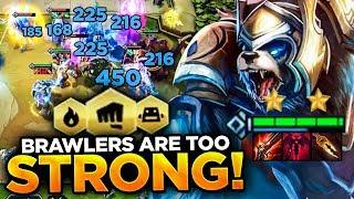 BRAWLER MAKES DEMON BEAR OP! BEEFIEST COMP EVER! | Teamfight Tactics