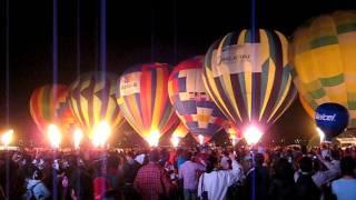 Les montgolfières au mexique