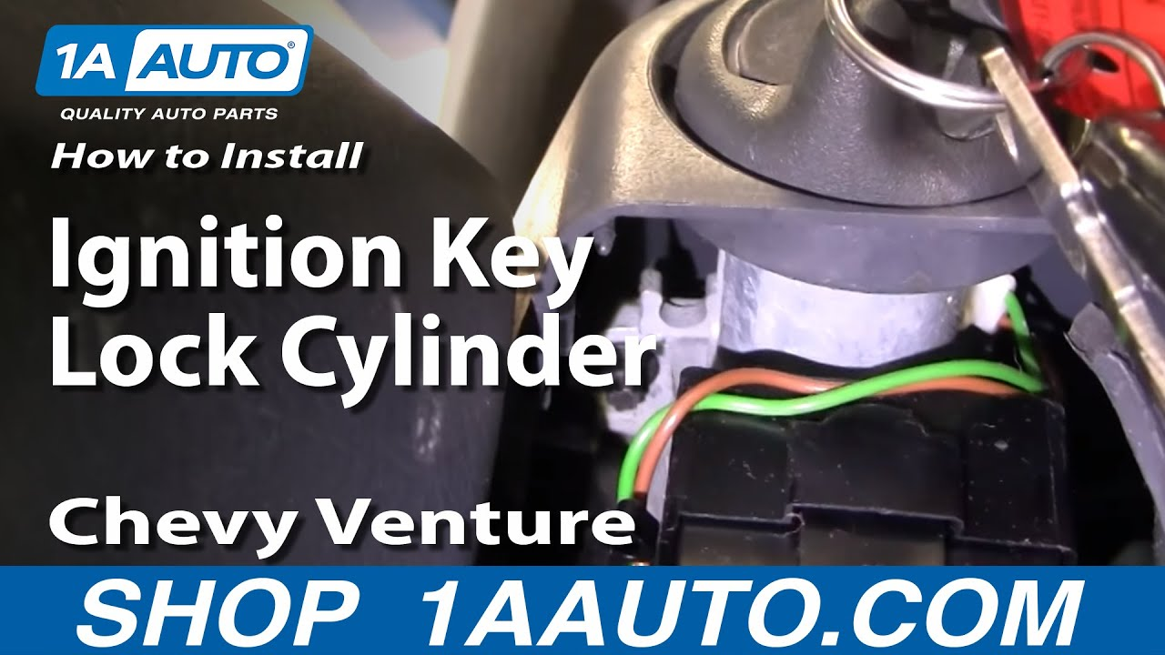how to install replace ignition key lock cylinder chevy. Black Bedroom Furniture Sets. Home Design Ideas