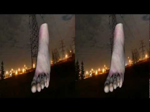 Virtual Human Foot in 3D Stereo - yt3d