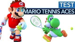 Mario Tennis Aces im Test - Spielspaß-Hit für Nintendo Switch