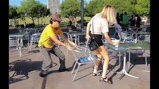 Chair Pulling Prank in Birmingham!!!