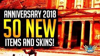Overwatch Anniversary 2018 - 50 NEW Items! / 8 LEGENDARY Skins! / Comp Deathmatch!