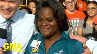 How a school bus driver became an 'extra mom' to her whole community   GMA