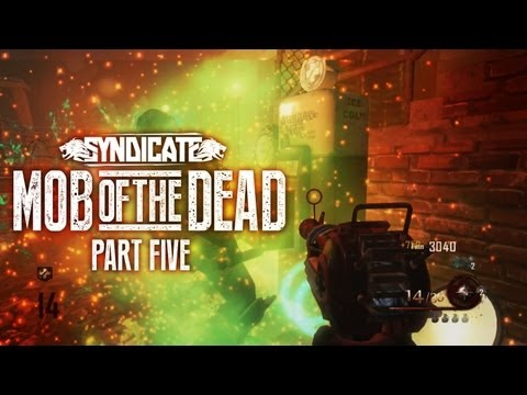 Black Ops 2 Zombies 'Mob Of The Dead' *BOSS ATTACK* Gameplay Live W/Syndicate (Part 5) - Smashpipe Games