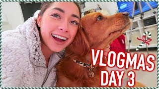 Filming a Christmas Video w/ a Special Guest! VLOGMAS DAY 3