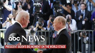 Biden faces critical issues at home after 1st foreign trip | ABC News